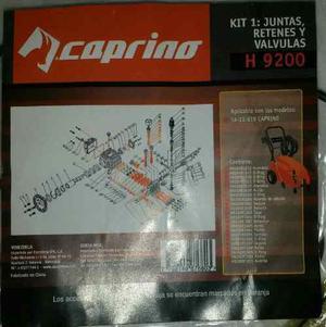 Kit Caprino Juntas, Retenes Y Válvulas