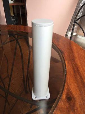 Patas Redondas Para Muebles En Aluminio De 20 Cm