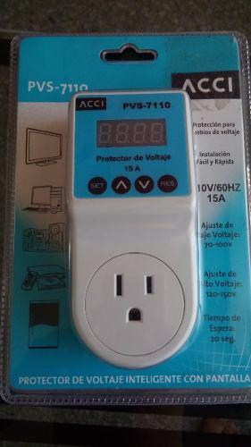 Regulador Protector De Voltaje 15 A Modelo Pvs-