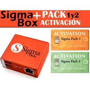 Sigma+box Pack 1 Y 2 (cambio X Tlf + Diferencia)