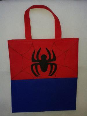 Cotillones Infantiles En Tela Pop Hombre Araña (spiderman)