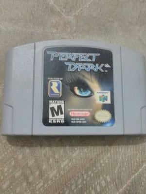 Juego De Nintendo 64 Perfect Dark