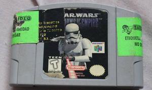 Juego De Nintendo 64. Star Wars Shadows Of The Empire