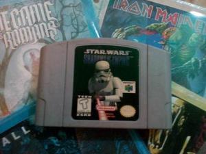 Juego Original Nintendo 64: Star Wars Shadow Of The Empire