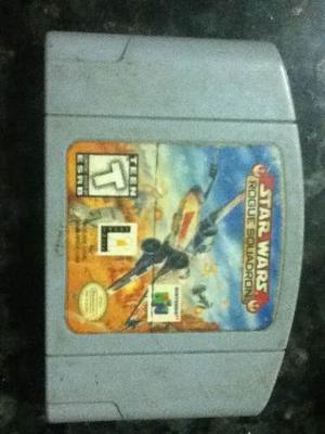 Juego Star Wars Rogue Squadron Nintendo 64 Usado Buen Estado