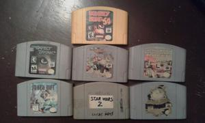 Juegos N64 Star Wars, Mortal Kombat, Perfect Dark