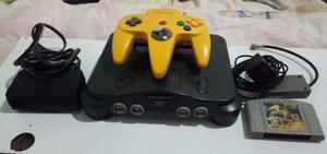 Nintendo 64 + 1 Control + 1 Juego. Usado Original