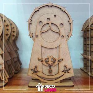 Virgen En Mdf, Recuerdos, Baby Shower, Bautizo, Corte Laser