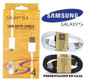 Cable Micro Usb Samsung Cargar Y Dato S3 S4 Note Table Mayor