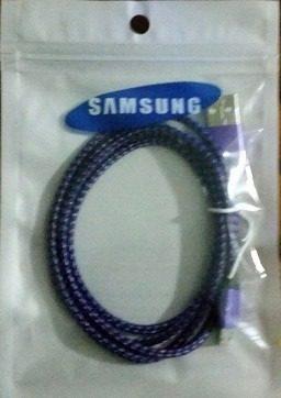 Cable Samsung Micro Usb Nylon Datos Cargador Somos Tienda!