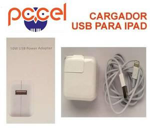 Cargador Usb Para Ipad De 10w Con Cable