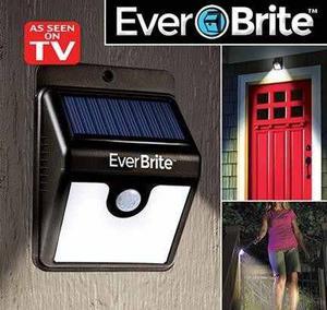 Everbrite Luz Led Recargable Con Luz Solar Fácil