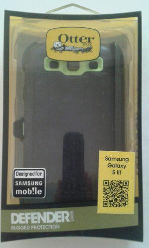 Forro Estuche Otterbox Defender Samsung Galaxy S3