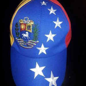 Gorra De Venezuela Tricolor 7 Estrellas