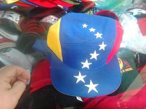 Gorra Plana Tricolor De Venezuela
