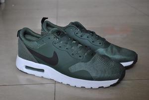 Kp3 Zapatos Nike Air Max Tavas Verde Caballeros