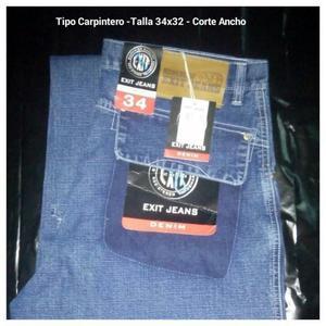 Pantalón Jeans Tipo Carpintero Caballero