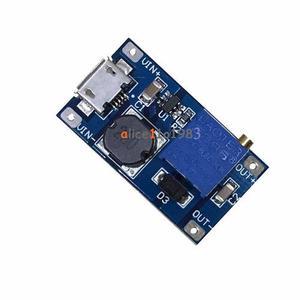 Regulador Dc-dc Elevador Micro Usb 2a Leds Arduino