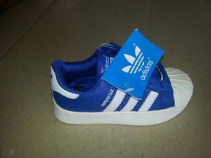 Zapatos Adida Super Star Para Niños Y Niñas Original