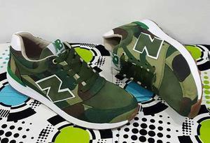 Zapatos Deportivos New Balance Camuflajeados