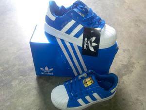 Zapatos adidas Super Star Niñas Niños (27 Al 32)