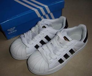Zapatos adidas Superstar Clásico Para Niños