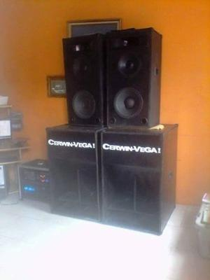 Cajas Tipo Cerwin Vega, Sp2 Sonido Completo