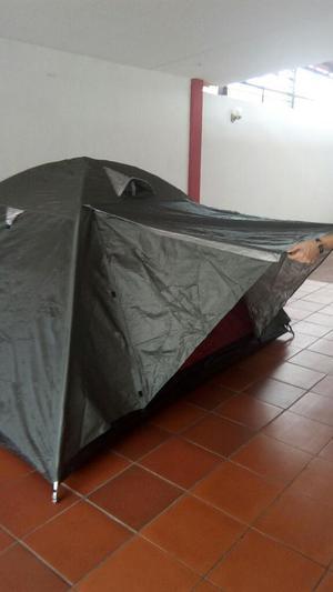 Combo Carpa 4p Sombrilla 2.10mts Y Manta