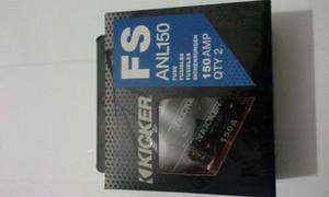 Fusible Térmico Kicker 150 Amp Pack De 2 Unidades Ve