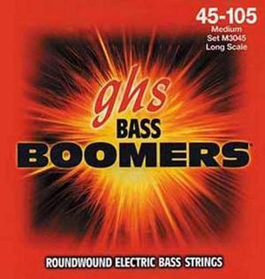 Juego 4 Cuerdas Para Bajo Ghs Boomers M