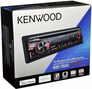 Kenwood Kdc-252u !!!!!!! Nuevo En Su Caja!!!!!! Oferta!!!