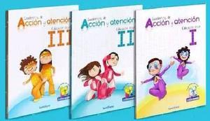 Libro Acción Y Atención Preescolar 1, 2 Y 3 Edit.