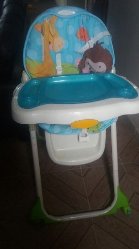 Silla De Comer Fisher Price Usada