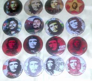 Coleccion De Chapas Del Che Guevara Y Otras.