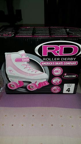Patines Serie Soy Luna. Roller Derby. Originales Talla 4