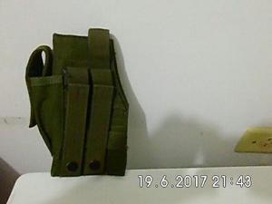 Pistolera Para Chaleco Con Sistema Modular