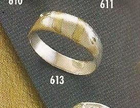 Anillo Especial Plata 925 Oro Referencia 613