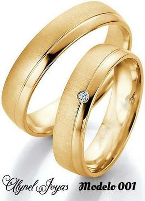 Anillos De Matrimonio En Oro 10 Kts (Somos Tienda Fisica)