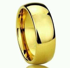Anillos O Aros De Matrimonio En Acero Inoxidable
