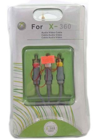 Cable Para X-360 Audio Y Video