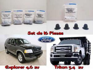 Gomas Sellos De Valvula Gorro Ford Triton Motor 5.4 Y 4.6 2v