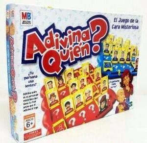 Juego De Mesa Adivina Quien Original De Hasbro