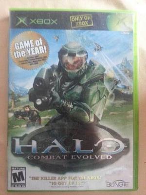 Juegos De Xbox Clásico Original Halo Combat Evolved