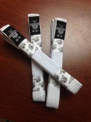 Cinturones Para Artes Marciales Blanco Banzai