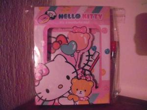 Diario Con Llave Hello Kitty Sanrio