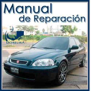 Honda Civic  Manual De Taller Reparación En