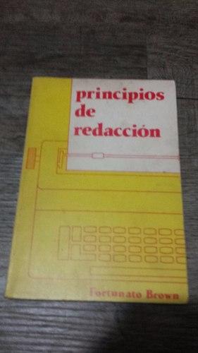 Libro Principios De Redaccion De Fortunato Brown