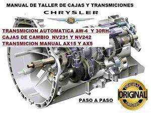 Manual De Taller De Cajas Y Transmiciones Chrysler
