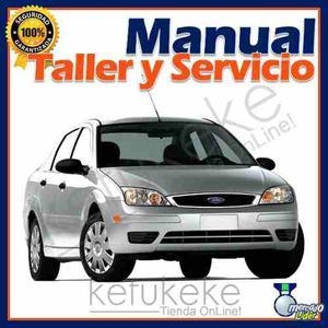 Manual De Taller Y Reparacion Ford Focus Zetec