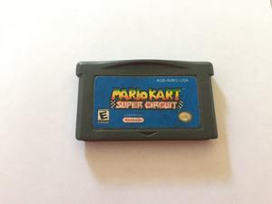 Mario Kart Super Circuit Para Gameboy Advance
